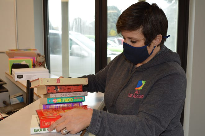 Morgan Ferrari, who started the Lake Country Adopt a Senior program, is running a book drive for seniors.