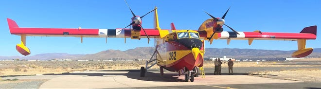 The Super Scooper can upload more than 1,500 gallons of water in just 12 seconds.