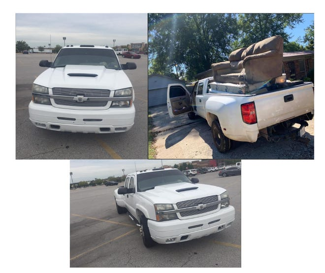 Deputies are searching for this truck in connection with a suspicious death investigation.