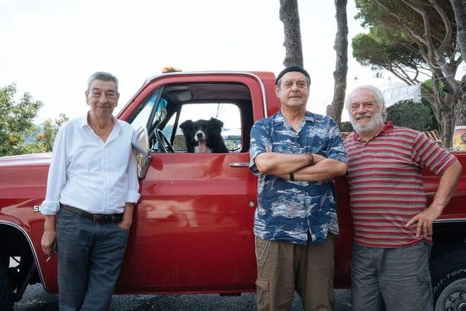 Writer-Director-Actor Gianni Di Gregorio headlines as The Professor, along Attilio (Ennio Fantastichini), a Chevy-4x4-driving antiques dealer and Giorgetto (Giorgio Colangeli).