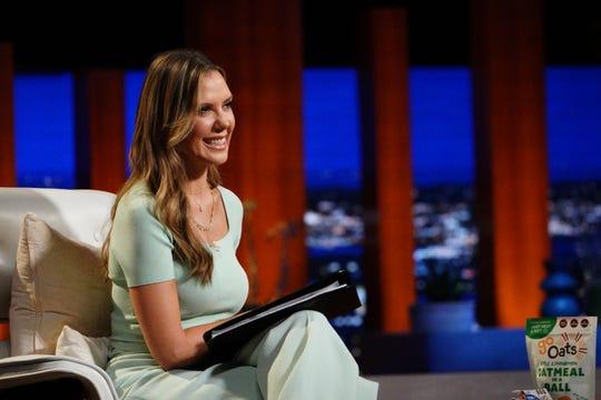 "Entrepreneur Kendra Scott appears as a guest shark on ""Shark Tank,"" Friday, Oct. 23."