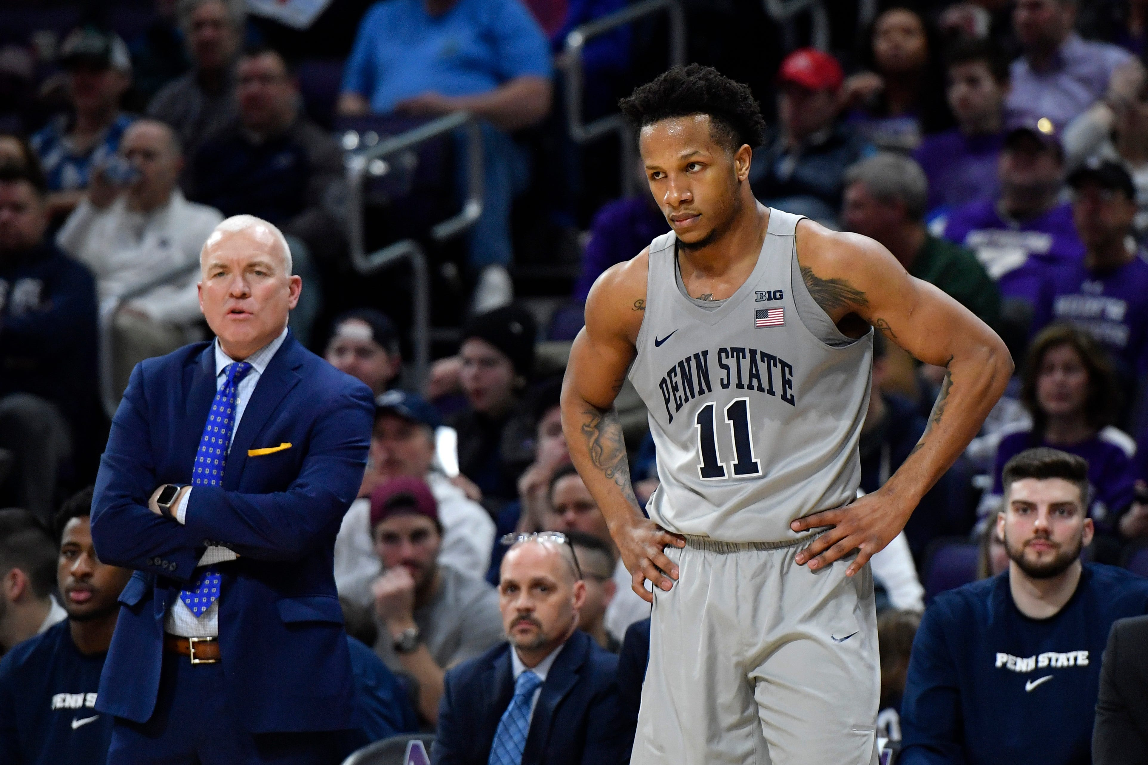 Penn State basketball coach Pat Chambers resigns after allegations of inappropriate conduct