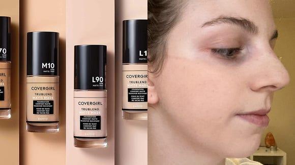 Best gifts for makeup lovers: Covergirl TrueBlend Matte Made Liquid Foundation