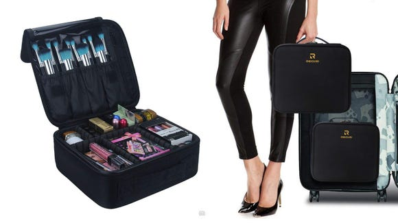 Best gifts for makeup lovers: Relavel Travel Makeup Case