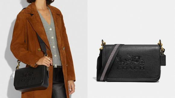 This fashion-forward crossbody is perfect for carrying your daily necessities.