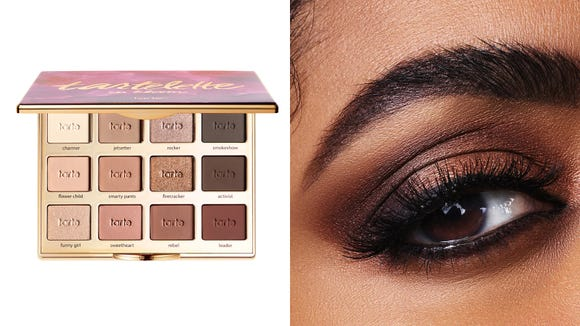 Best gifts for makeup lovers: Tarte Tartelette In Bloom Clay Eyeshadow Palette