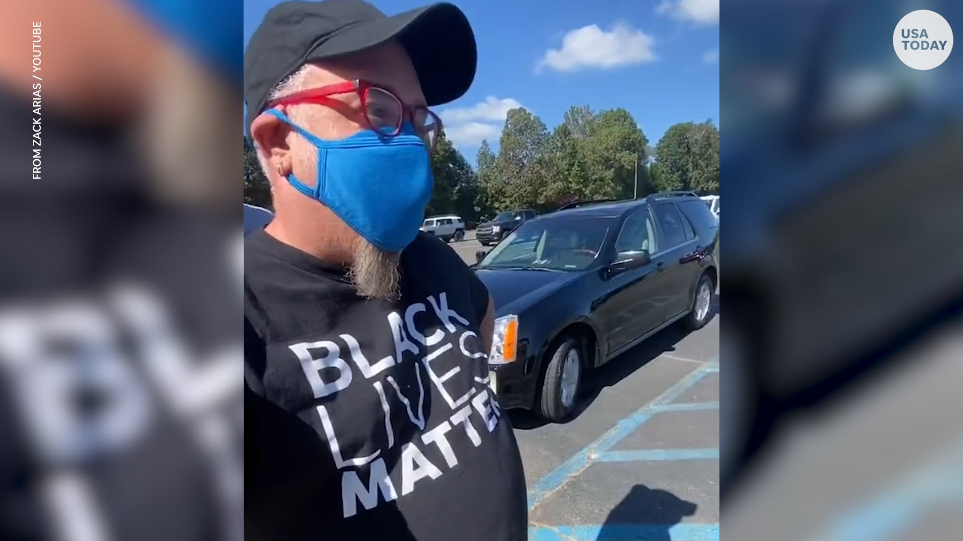 Georgia man wearing Black Lives Matter shirt told he must change his shirt before voting