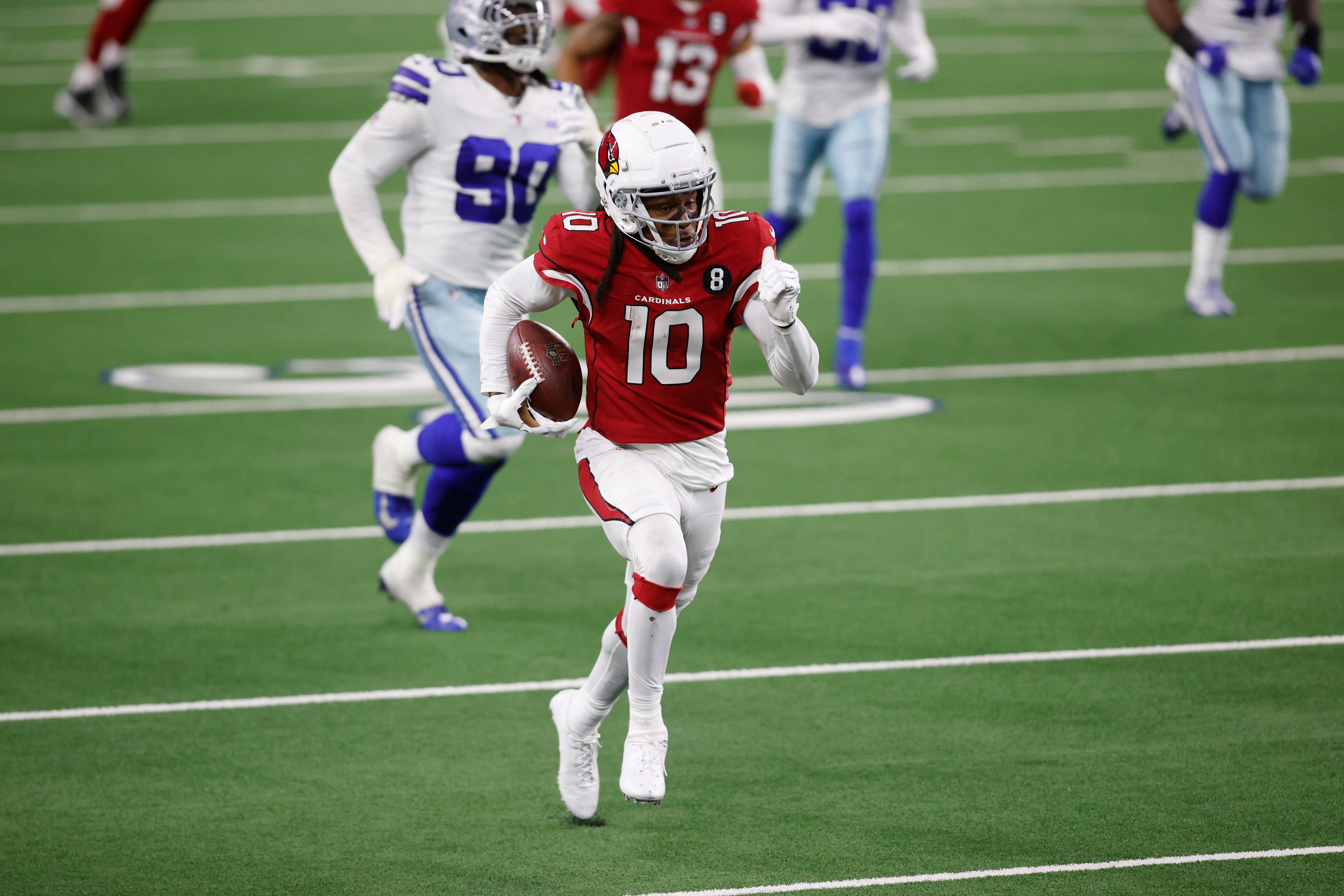 Fantasy football rankings for Week 7: Cardinals look to exploit Seahawks secondary