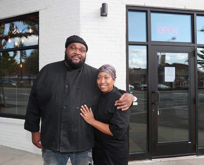 Tawon Burton and his wife, Patricia Burton, own ThaiSoul Fusion on Kenmore Boulevard in Akron.