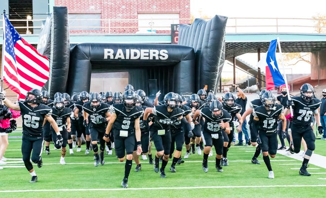 The Raiders will face El Paso Parkland at 6:30 p.m. Thursday in Odessa in an area playoff matchup. This comes after the Raiders defeated Fort Worth Southwest 21-10 on the road in the bi-district round.