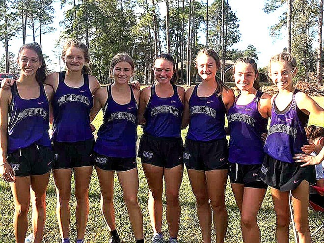 The Rosepine Eagles and Lady Eagles were victorious once again on Wednesday, claiming team championships at the Evans Eagles Nest Run at the Leesville Municipal Golf Course.