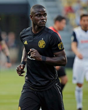 Crew defender Jonathan Mensah was named one of the best players in Major League Soccer in 2020.