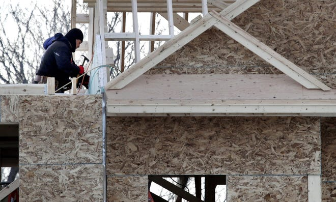 Contractors built more new homes in central Ohio last year than in any year since 2006, but the area still suffers from a shortage of homes.
