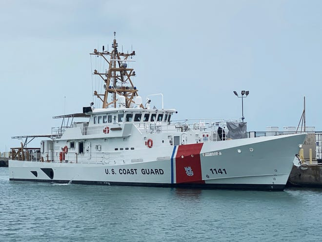 Lockport-based Bollinger Shipyards delivered the cutter Charles Moulthrope to the Coast Guard on Thursday in Key West, Fla. The ship will ultimately be based in the Persian Gulf.