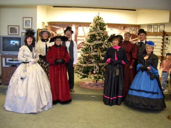 When this all started 15 years ago, the ladies and gentlemen at the Cambridge Glass Museum began dressing in Victorian style.