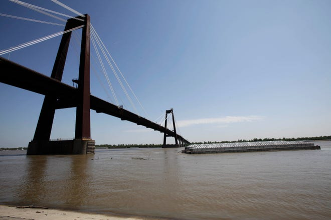 The Hale Boggs Bridge across the Mississippi River in Luling, part of I-310, is a main route for Houma-Thibodaux residents driving to and from New Orleans.