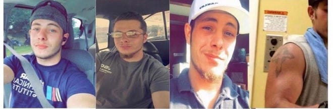 James Gregory, 24, has been missing since Oct. 9.