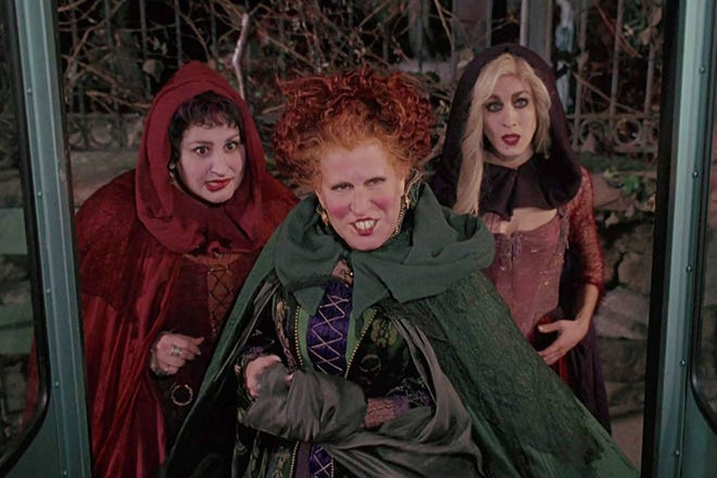 Davidson County residents can view for free the 1993 film 'Hocus Pocus'  on Oct. 24 in Cushwa Stadium.