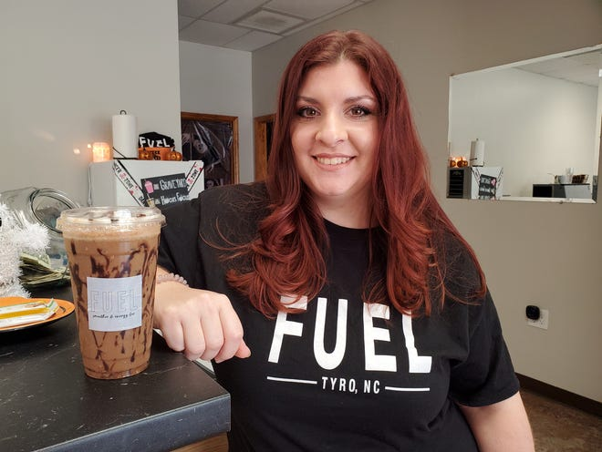 Miranda Legg, who grew up in the west Davidson area, opened FUEL Tyro, in late August with Regan Abele.