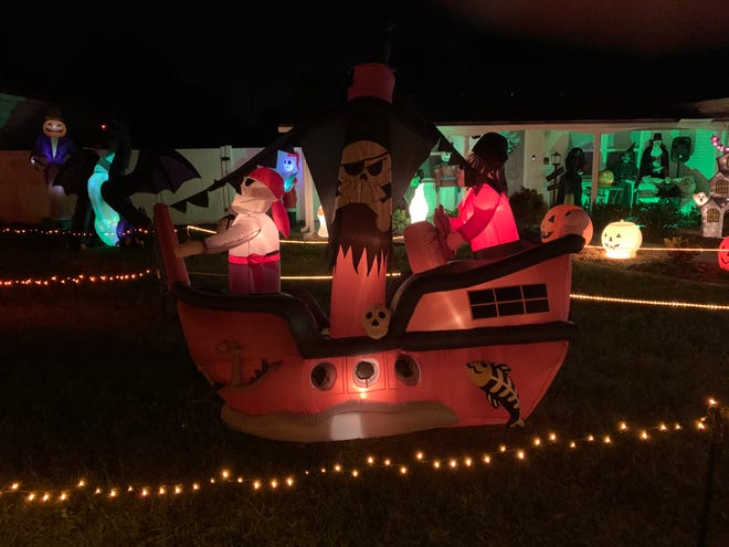 The annual Wilson Halloween Light Display has entertained locals for years now.