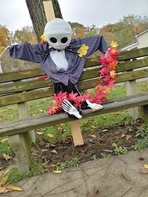 The annual scarecrow contest has started in Wampum.