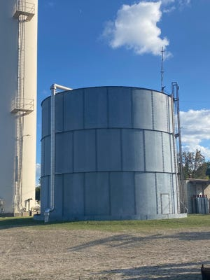 The city's water tank on Bryan will cost $300,000 to $350,000 to replace.