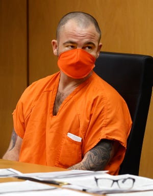 Travis Barlow, 37, was sentenced to 10 years in prison and five years' probation for punching an acquaintance in the head in June 2018, resulting in his death.