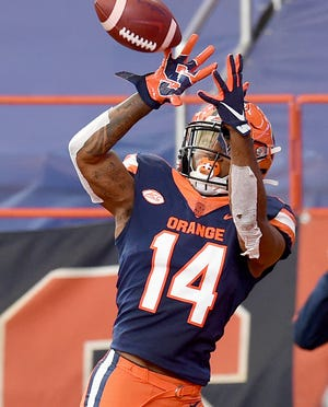 Wide receiver Anthony Queeley and Syracuse are looking to rebound after back-to-back losses. The Orange get a stiff test in No. 1 Clemson on Saturday.