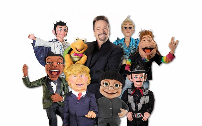 Comedian, singer and celebrity impressionist Terry Fator will preform April 17 at the Kravis Center.