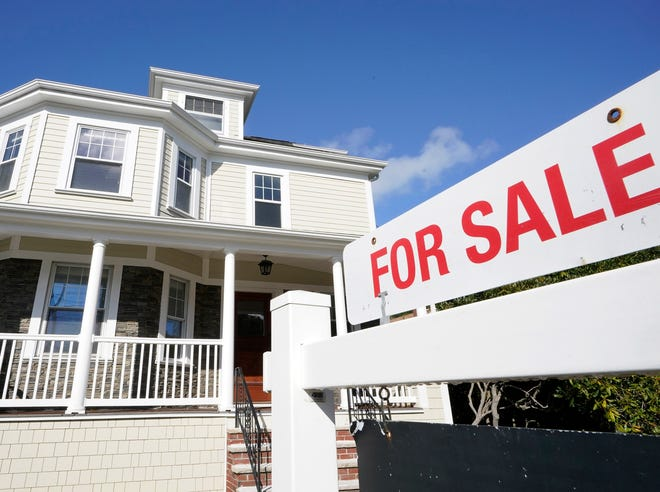 Sales of single-family existing homes in Maine increased 22.8% and the median sales price rose 19.6% comparing September 2020 to September 2019. (AP Photo/Steven Senne)