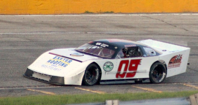 Stratham's Frankie Eldredge picked up his third championship in the past four seasons this year at Lee USA Speedway.