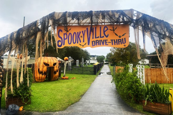Spookyville, a family-friendly Halloween attraction, returns to the South Florida Fairgrounds this year with a new format because of the novel coronavirus pandemic.