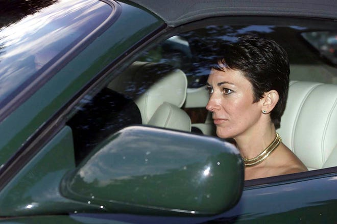 British socialite Ghislaine Maxwell in 2000.