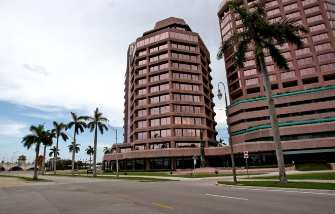 The Phillips Point office complex in West Palm Beach.