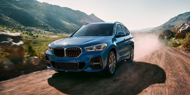 The tested 2021 BMW X1 xDrive28i comes with a 228 horsepower turbocharged 2.0-liter four-cylinder engine that makes 258 pound-feet of torque.