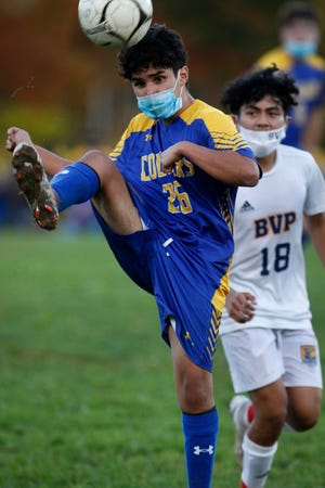 Sebastian Celaya and the North Providence boys soccer team will try to earn a spot in the Division III championship game when they host Johnston in the semifinal round on Thursday.