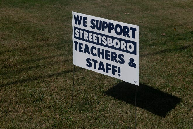 The Streetsboro teachers and support staff have filed a notice they will strike Nov. 18 barring a contract agreement being reached.
