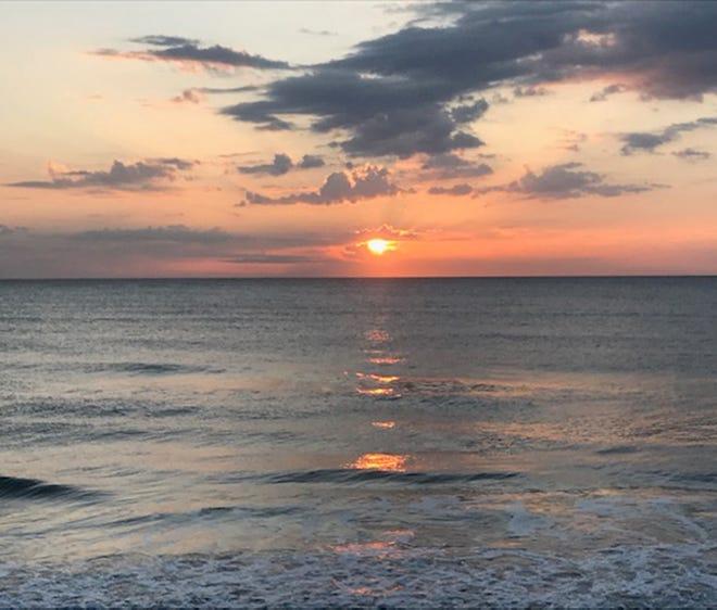 Sunrise at Ormond Beach.