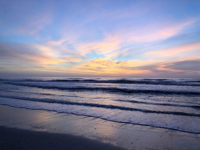 Sunrise at St. Augustine Beach.
