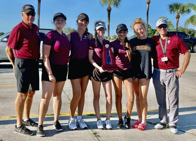 The Riverview High golf team is one of the favorites at the Class 3A girls state golf championships.