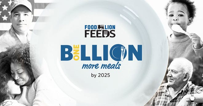 Food Lion Feeds isdonating 9.5 million meals to Feeding Americapartner food banksthroughout its 10-state footprint.