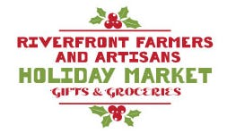Riverfront Farmers and Artisans Holiday Market will be held on four consecutive Saturdays beginning November 28, in a safe environment at 721 Surry St., next to Waterline Brewing Co.