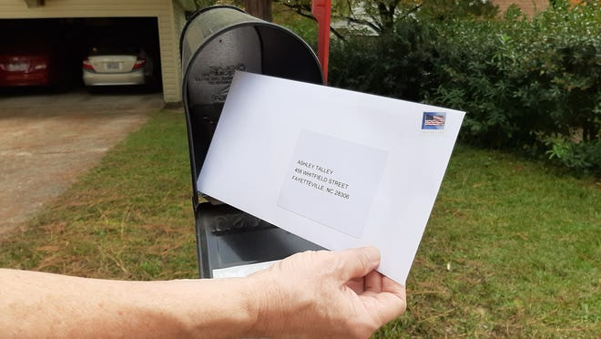 The Fayetteville Observer and WRAL recently conducted a test to see how long it might take ballots to arrive in the mail.