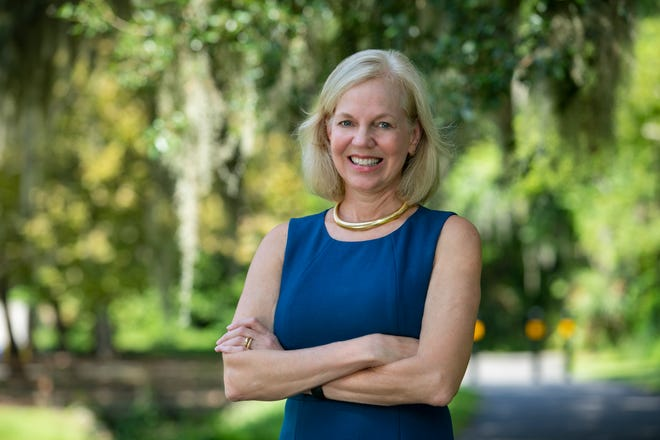 Dr. Sonja Rasmussen, professor in the pediatrics and epidemiology departments at the University of Florida's College of Medicine and College of Public Health and Health Professions. Rasmussen was one of 17 medical experts in a national committee created to study how to equitably distribute the pending COVID-19 vaccine.