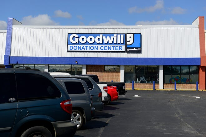 Goodwill's new location in Rainbow City is pictured on Wednesday.