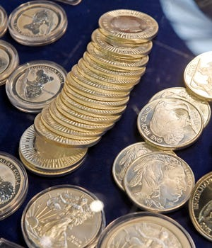 Coins of all types will be on display this weekend at the Gadsden Mall as the Gadsden-Rainbow City Coin Club hosts its final show of the year.