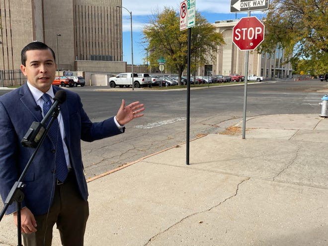 Pueblo County Commissioner Garrison Ortiz talks about a new project that aims to unify permit processes for new businesses wanting to locate in the city and county.