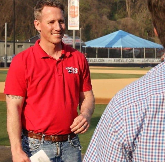 Chris Womack has been named the new sports director at WLOS, replacing Stan Pamfilis, who will retire next month