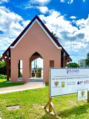 The Al Glover Memorial Chapel and Classroom at St. Marks Church and Academy recently was completed on the banks of the Indian River in Cocoa Village.