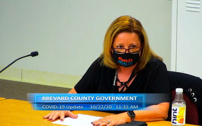 Maria Stahl, administrator for the Florida Department of Health in Brevard County.